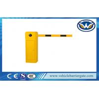 Quality Remote Control Automatic Barrier Gates , Straight Boom Traffic Barrier Gates in 3m / 5m / 6m wholesale