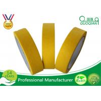 Best Waterproof Colored Masking Tape Yellow Color No Residual Paper Masking Tape wholesale