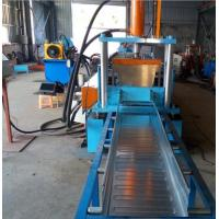 Buy cheap Easy Operation Trench Cable Tray Roll Forming Machine 22KW 600MM Width SGS from wholesalers