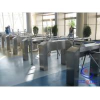 Buy cheap Qr Code Barcode Waist Height Turnstile For Stadium/Gym/Cinema/Scenic Area from wholesalers