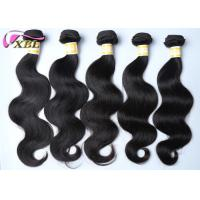 Quality 30 inch Indian Virgin Hair Weft / Unprocessed Human Body Wave wholesale