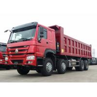 40 - 50 Ton Heavy Dump Truck 371HP Horse Power WD615.47 Diesel Engine
