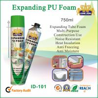 Quality Expanding Tube Pu Foam Spray 750ml For Window And Door Wood Strength wholesale