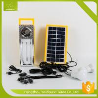 BN-9829R Rechargeable LED Camping Lighting Solar System