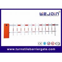 Quality Outdoor Road Customized CE Parking Lot Barrier Gate With Aluminum Alloy Core wholesale