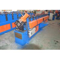 Best High Speed 0 - 15m/min Light Metal Channel C U Stud And Track Roll Forming Machine For Making Steel Structure Truss wholesale