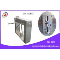 Best Automatic 304 stainless steel pedestrian security gates With Swallow Coin Machine wholesale