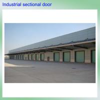 Quality remote control high quality color steel exterior polyurethane foam industrial electric overhead used garage doors sale wholesale