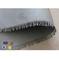 """Best 0.45mm PU Coated Glass Fibre Fabric For Welding Blanket 460gsm 39"""" Cloth wholesale"""