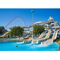 90 KW Power Spiral Water Slide For Thrilling Water Playground Equipment