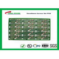 2 Layer PCB Board FR4 2.0MM Gold Surface Finish General Purpose PWB  Board