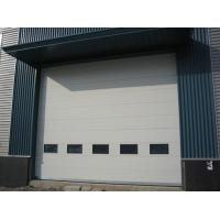 Quality Industrial Overhead Sectional Door ,insulated with polyurethane foam infill, all size wholesale
