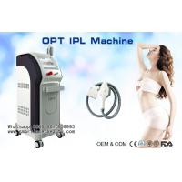Quality Pain-free SHR IPL Hair Removal Machine Without Gel / Vertical E-light IPL RF Hair Removal wholesale