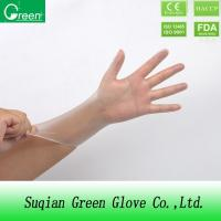Quality Clear Disposable P Free Vinyl Gloves / non sterile surgical gloves wholesale