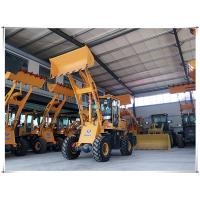 bucket loader ZSZG front end loader mini wheel loader for sale