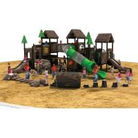 Outdoor Playground Type and Plastic Playground Material outdoor play area