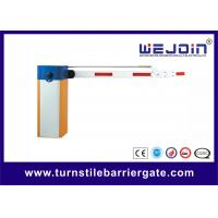 Best Automatic Parking Barrier Gate with 4 meters 3 Fence Boom for Train station wholesale
