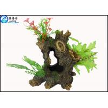 Quality Colorful Artificial Plants Hollow Tree Aquarium Ornaments for Decorating Aquarium Fish Tank wholesale