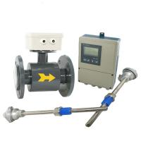 Cheap IP65 / IP67 / IP68 Divided Type Electromagnetic Flow Meter in High temperature for sale