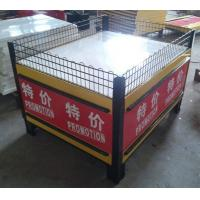 Quality Folding Metal Promotion Supermarket Display Racks With Powder Coated SGS ISO9001 wholesale