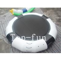 Quality Funny Inflatable Rrampoline Amazing PVC Inflatable Water Parks For Kids and Adults wholesale