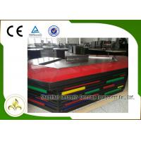 Quality Bridge Shape Upper or Down Fume Exhaustion Teppanyaki Grill Table With 11 Seats wholesale