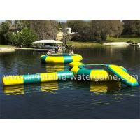 Best Great Fun Inflatable Water Trampoline Combo Durable Long Life Span wholesale