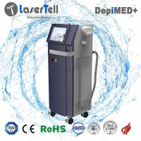 Quality Permanent 808nm Diode Laser Hair Removal Machine with Single Pulses 75kgs wholesale