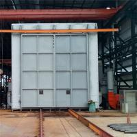Quality Recycling Type Shot Blasting Chamber , Industrial Blast Cabinet For Castings Surface Cleaning wholesale