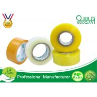 Quality 80M Length Clear Water Resistant Bopp Adhesive Tape High Temperature wholesale