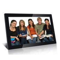 Quality Big 21.5 Inch FHD High Resolution Digital Picture Frame With Video Loop Play wholesale