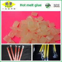 Best Light Yellow EVA Hot Melt Packaging Adhesive for Beverage Packing , Food Grade wholesale