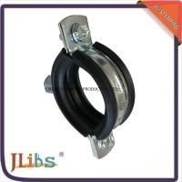 Quality 18mm-200mm Dia Cast Iron Pipe Clamps with 45+-5° Shore Hardness wholesale