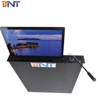 Quality 17.3 Inch  Screen Table Motorized Computer Monitor Mechanism With Motorized  MIC wholesale