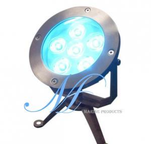 LED underwater light, IP68 swimming pool light, fountain LED lamp, park light