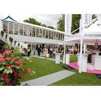 Best Commercial  Double Deck Outdoor Event Tents With Central Air-Conditioning wholesale