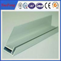 Best aluminium extrusion for solar frame with CNC machined holes,cutting wholesale