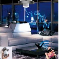 Remote control led bulb with bluetooth speaker