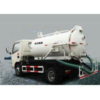 Buy cheap Safety Reliable Special Purpose Vehicles , 6.5L Transport Sewage Vacuum Truck from wholesalers