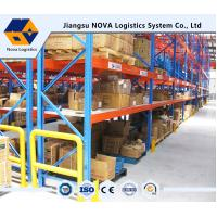 Quality Customized Pallet Rack Storage Systems With Steel Q235 ISO9001 SGS CE wholesale