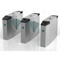 Quality Pedestrian automatic systems turnstiles / Stainless Steel turnstile security gates wholesale