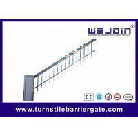 Quality Traffic Commerrcial Car Barrier Gate , Vehicle Barrier Gates With Fence Boom wholesale