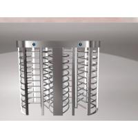 Quality TCP / IP Turnstile Barrier Gate , Full Height Turnstiles Rfid Control System wholesale