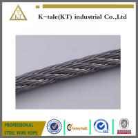 SUS304 316 6*19+fc stainless steel cable for tow made in china with cheap price