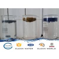 Quality Paint dust flocculant for Spraying sewage treatment Clear liquid with light blue A B agent wholesale