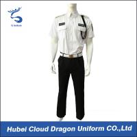 Men Security Guard Uniform Full Set For Hotel / Airport / Station Protection