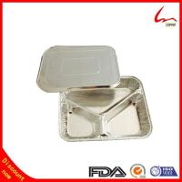 Best 3 Compartment Foil Food Container/Tary/Plate/Pan wholesale