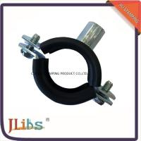 Best Galvanized Iron Cast Iron Pipe Clamps With EPDM Rubber M8 M10 Nut wholesale
