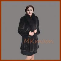 Best mink fur coat 141# wholesale
