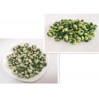 Quality Customized Crispy Green Color Wasabi Green Peas Free From Frying OEM Service wholesale